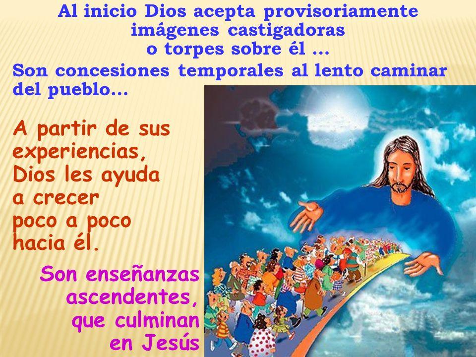 Jesús recoge la Revelación Progresiva de Israel, la actualiza y la completa.