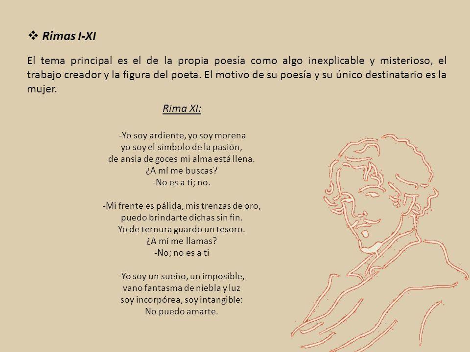 El tema principal es el de la propia poesía como algo inexplicable y misterioso, el trabajo creador y la figura del poeta.