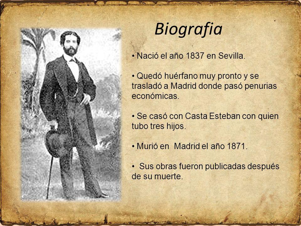 Nació el año 1837 en Sevilla.