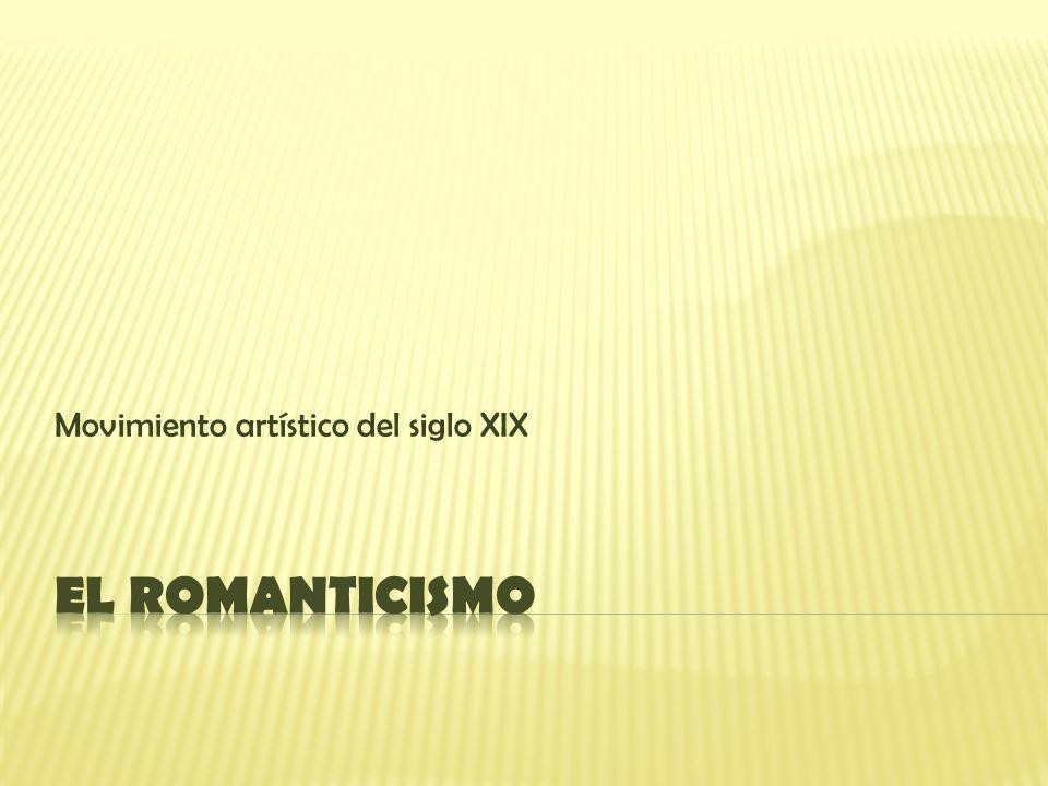 El romántico considera el paisaje como un elemento muy importante en su obra.