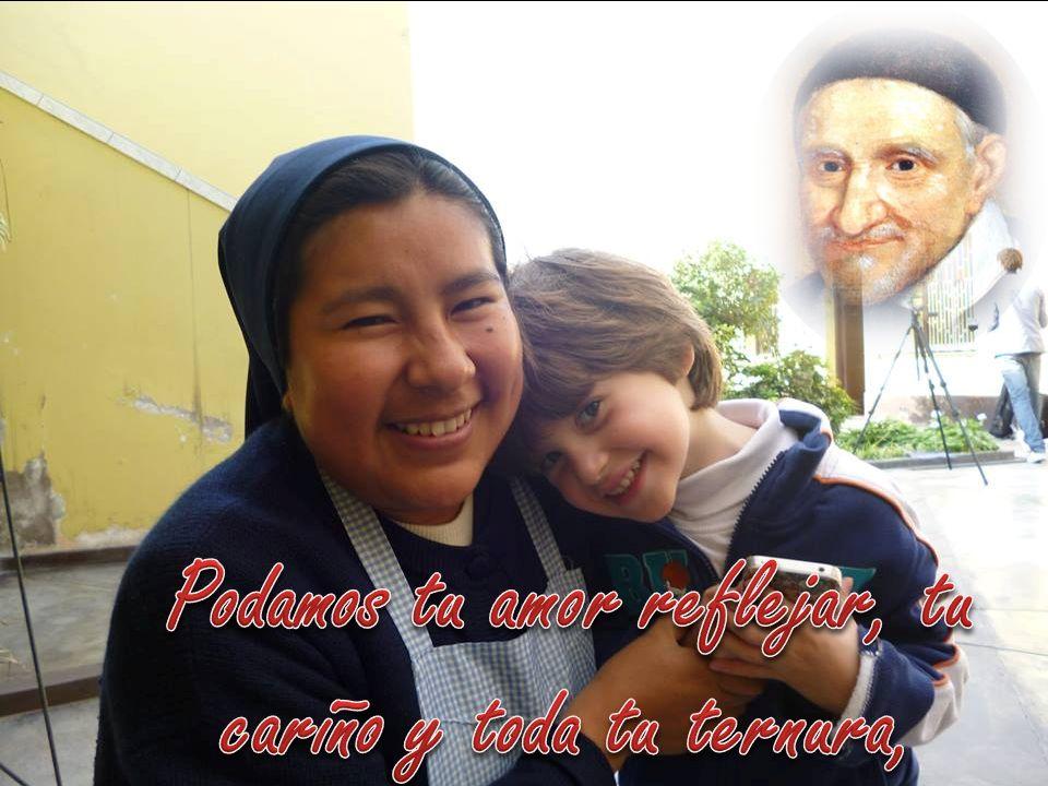 que sacie a los pobres de pan, de esperanza, de amor y salvación
