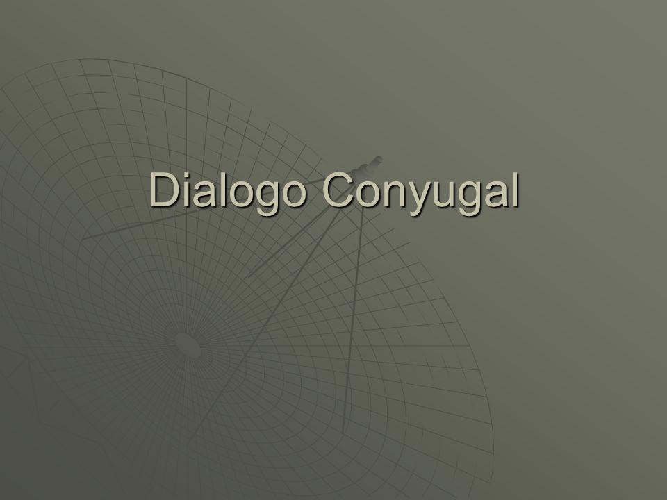 Dialogo Conyugal