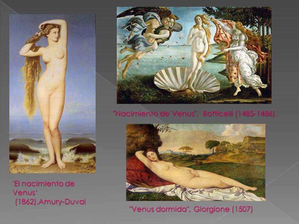 'El nacimiento de Venus (1862),Amury-Duval