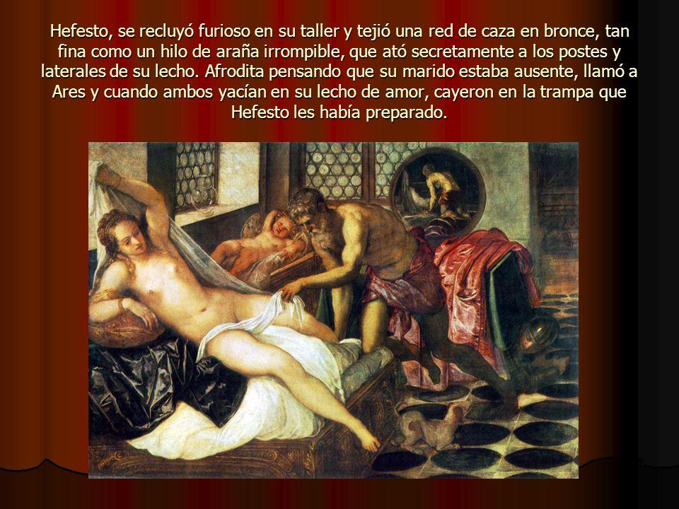 En fin, Afrodita también llamada Venus tuvo batallitas con otros personajes como: Aracne, a la que convirtió en Araña.