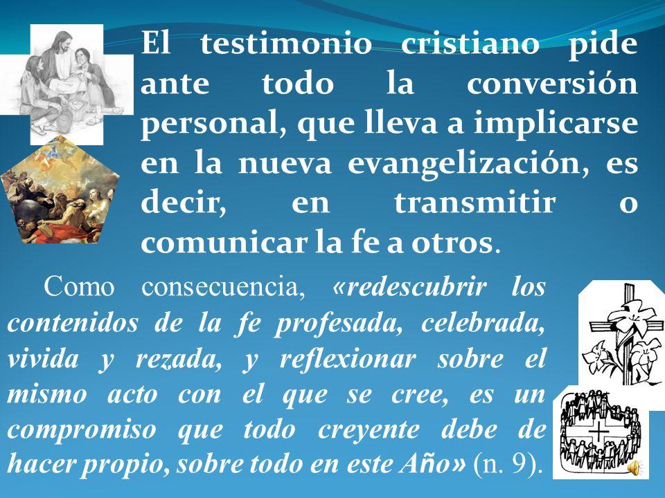 Vivir la fe: conversi ó n y evangelizaci ó n ¿ Cu á l es nuestro puesto y cu á l es nuestra misi ó n en la Iglesia? ¿ C ó mo podemos ayudar a que nues