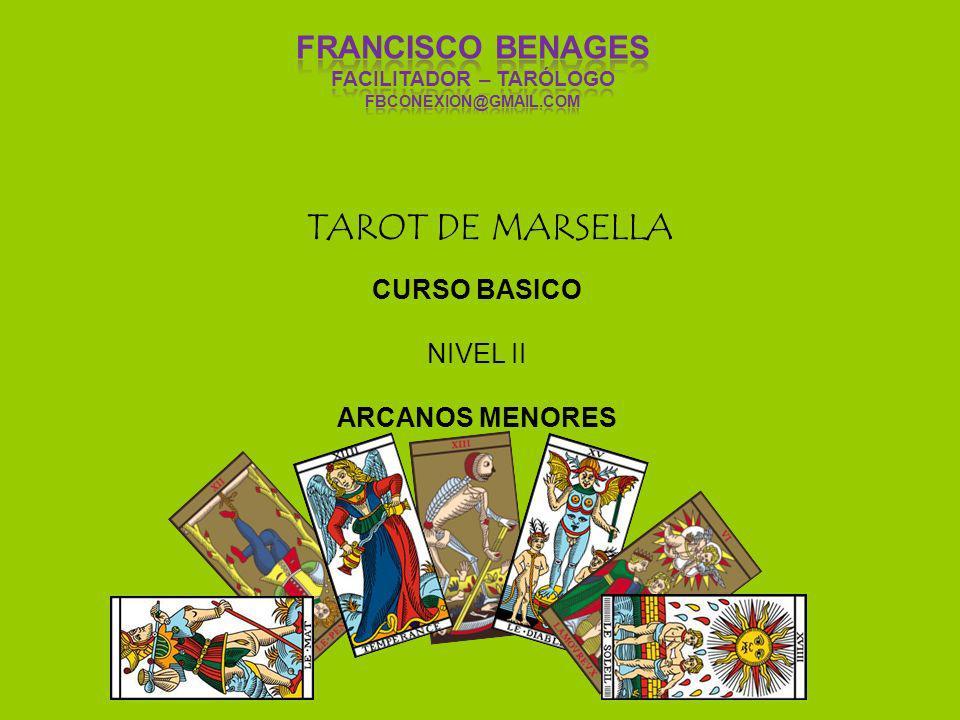 TAROT DE MARSELLA CURSO BASICO NIVEL II ARCANOS MENORES