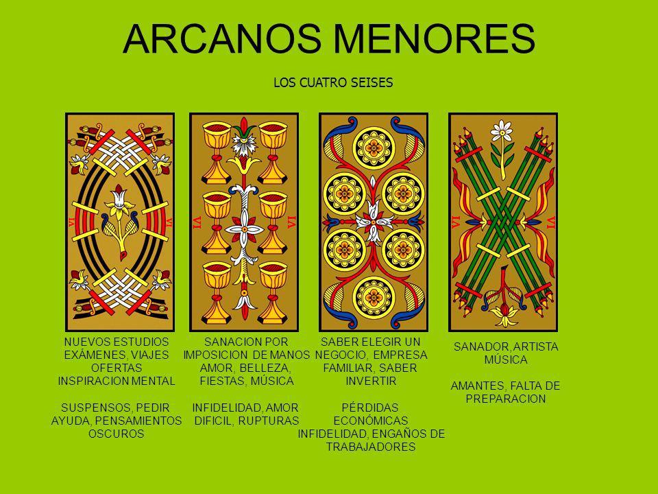 ARCANOS MENORES LOS CUATRO SEISES NUEVOS ESTUDIOS EXÁMENES, VIAJES OFERTAS INSPIRACION MENTAL SUSPENSOS, PEDIR AYUDA, PENSAMIENTOS OSCUROS SANACION PO