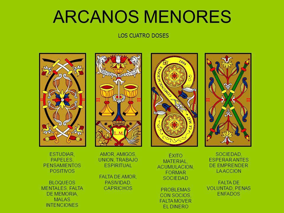 ARCANOS MENORES LOS CUATRO DOSES ESTUDIAR, PAPELES, PENSAMIENTOS POSITIVOS BLOQUEOS MENTALES, FALTA DE MEMORIA, MALAS INTENCIONES AMOR, AMIGOS, UNION,