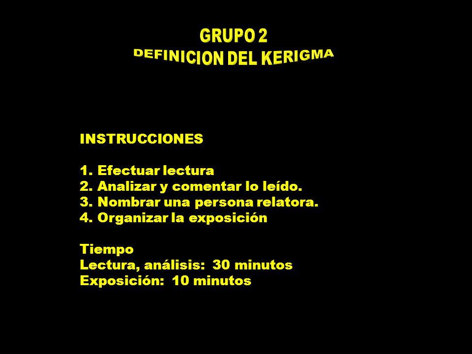 INSTRUCCIONES 1.Efectuar lectura 2.Analizar y comentar lo leído.