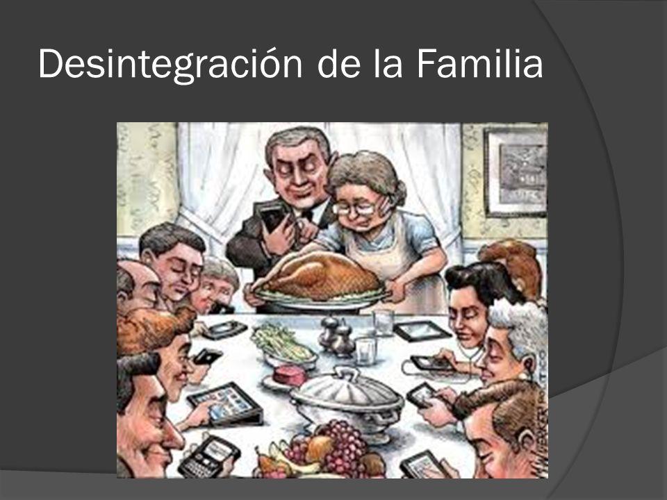 Desintegración de la Familia