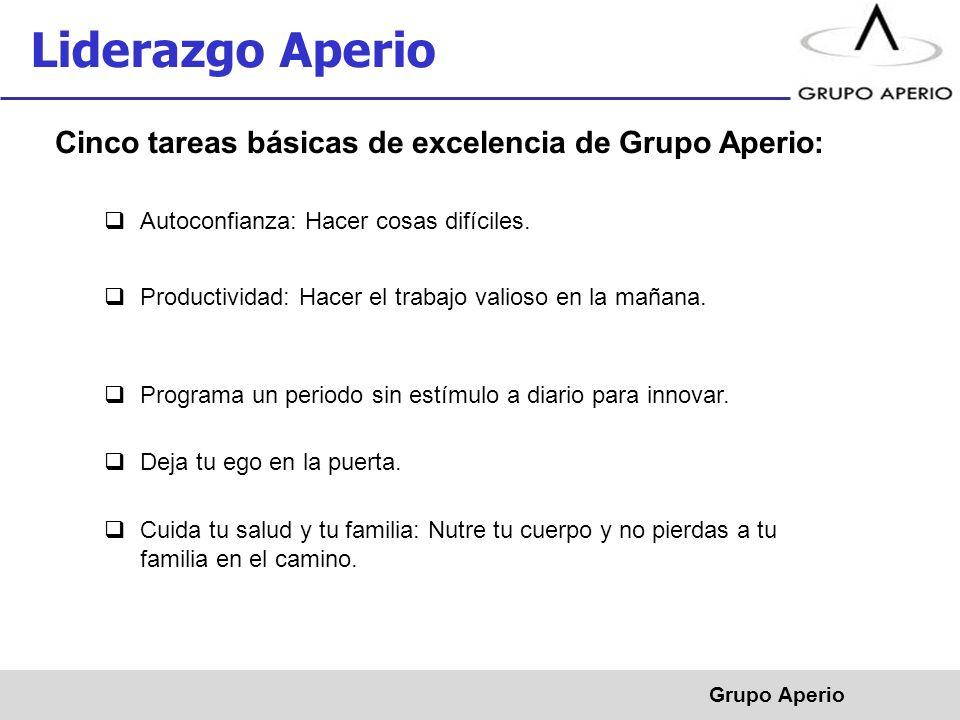 Aperio, S.A.de C.V.