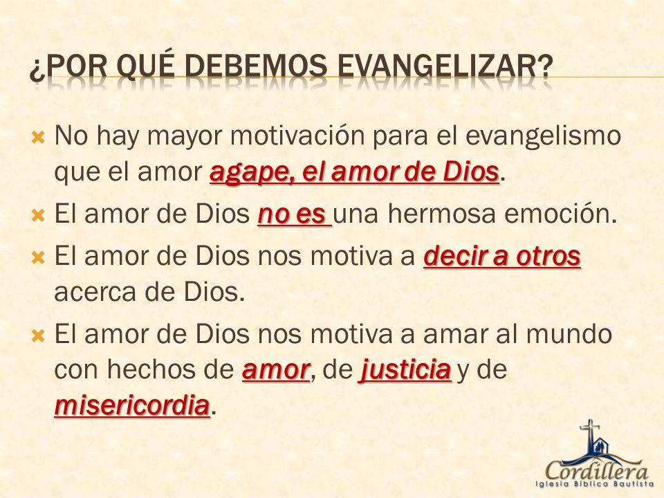 vivir una vida de demostración El amor de Dios nos motiva a vivir una vida de demostración de amor.