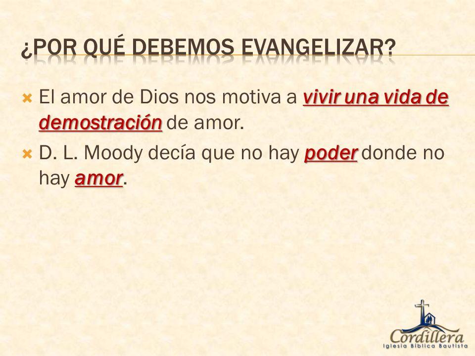 demanda manda Porque el amor de Cristo nos lo demanda y Cristo mismo nos lo manda.