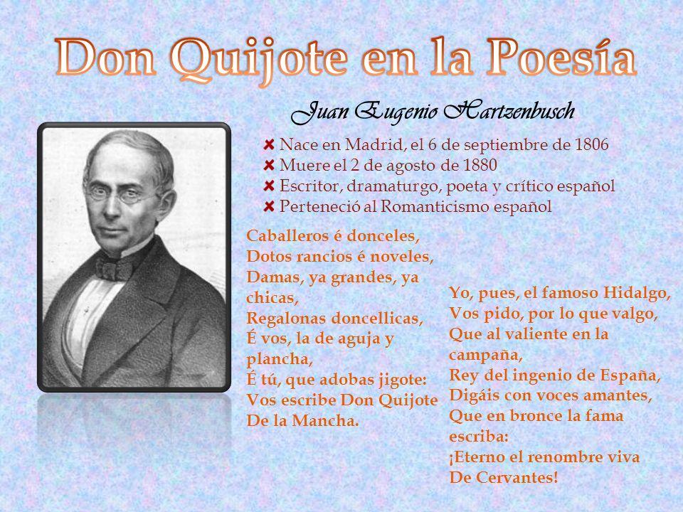 Nace en Madrid, el 6 de septiembre de 1806 Muere el 2 de agosto de 1880 Escritor, dramaturgo, poeta y crítico español Perteneció al Romanticismo españ