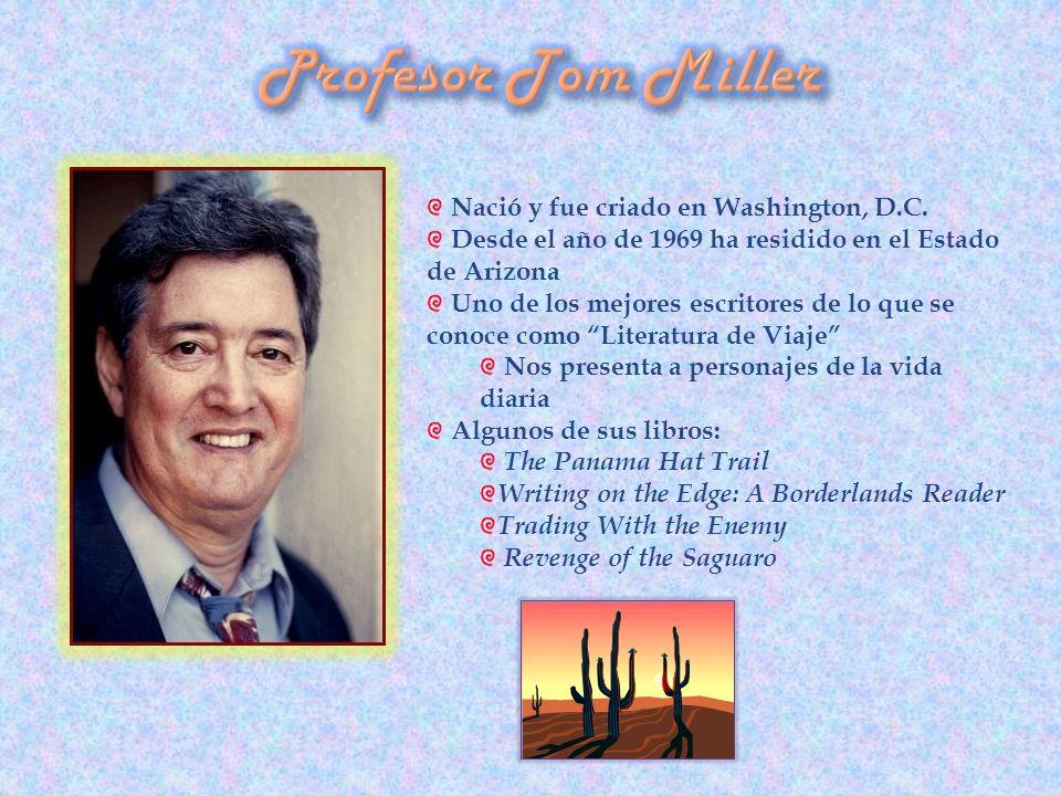 Nació y fue criado en Washington, D.C. Desde el año de 1969 ha residido en el Estado de Arizona Uno de los mejores escritores de lo que se conoce como