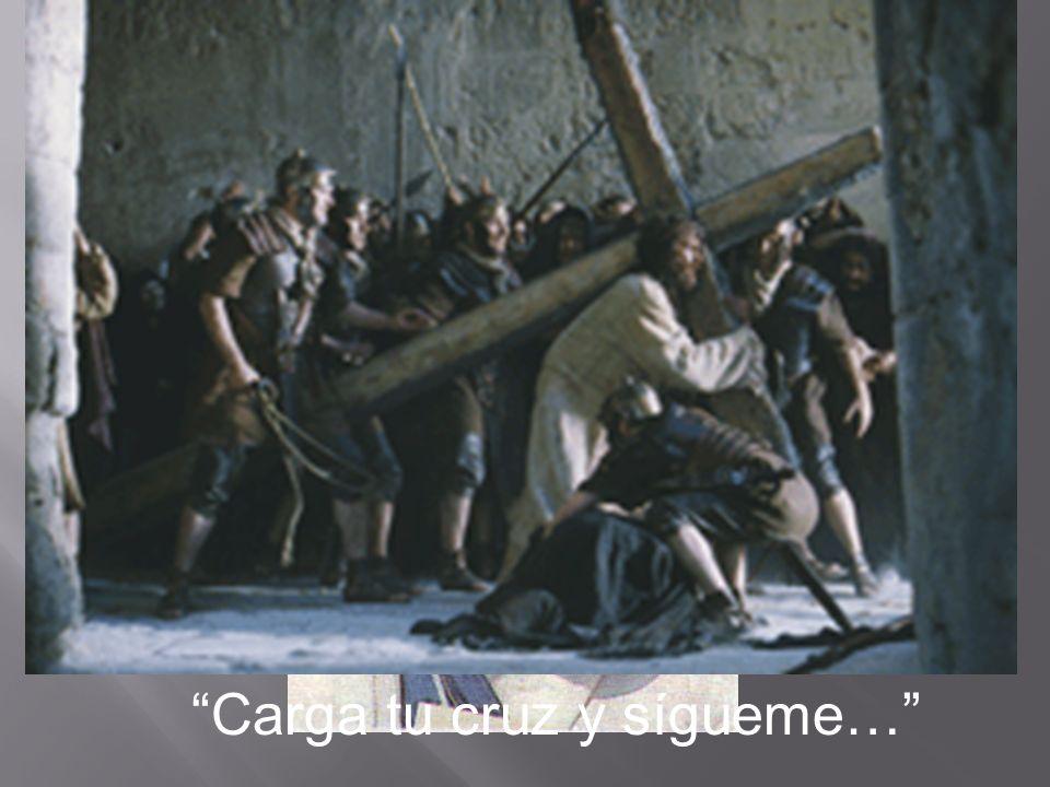 Quien no vive para servir; NO sirve para vivir… Carga tu cruz y sígueme…