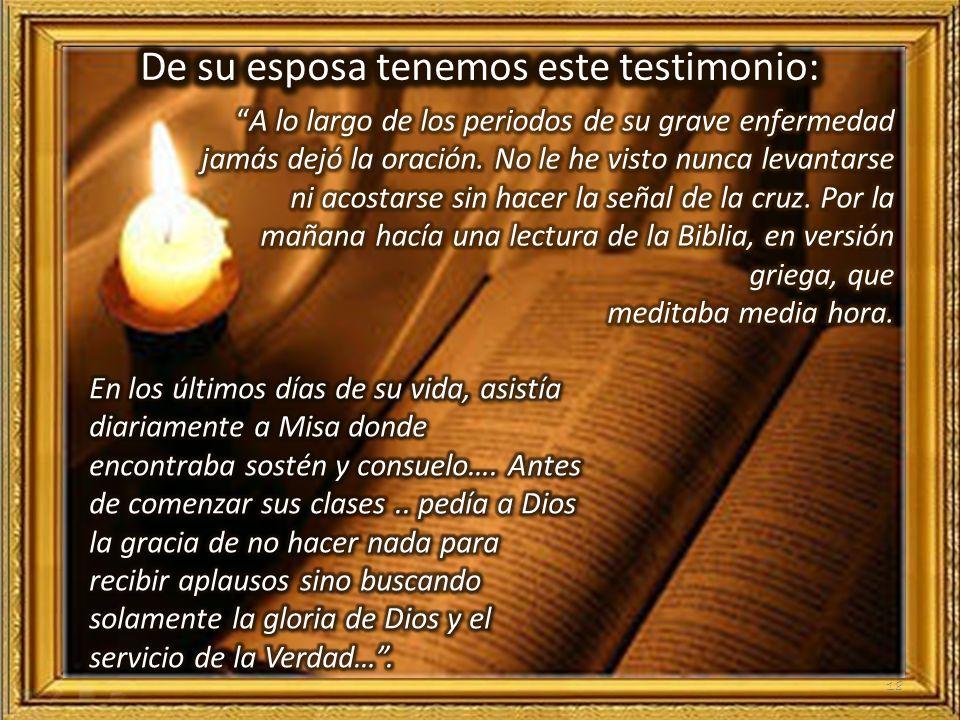 17 c.-Prácticas de piedad y vida de oración
