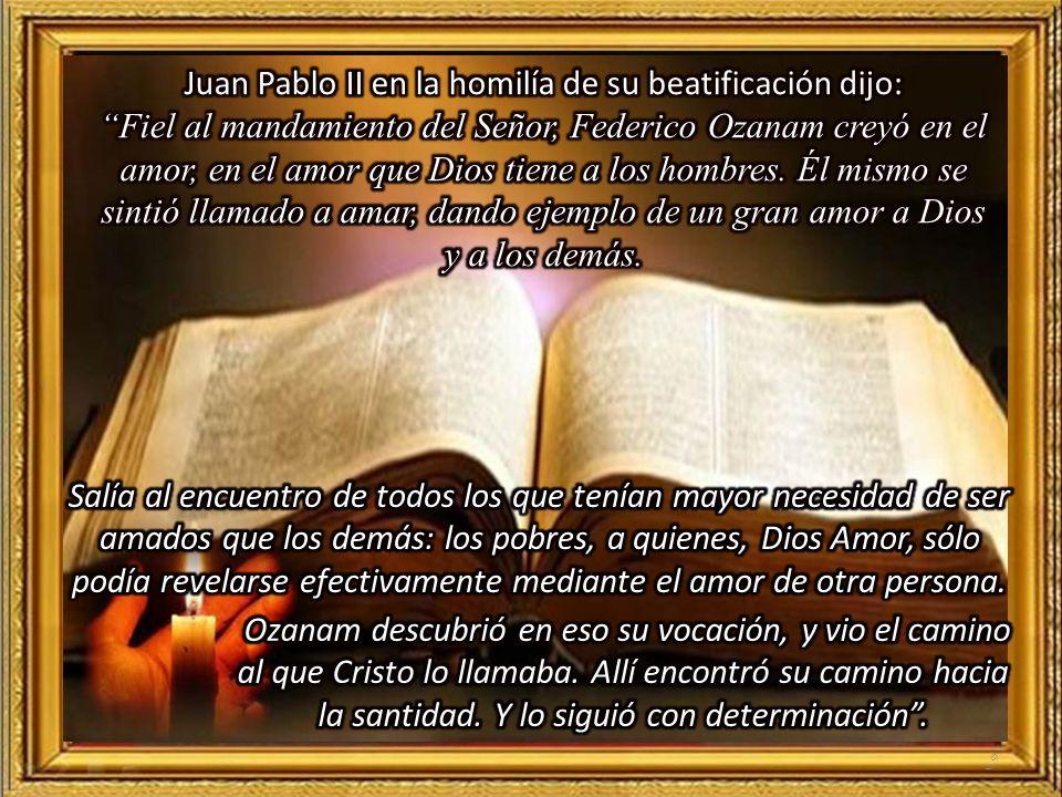 59 1.- La santidad en Federico Ozanam Autor: María Teresa Candelas, H.C.