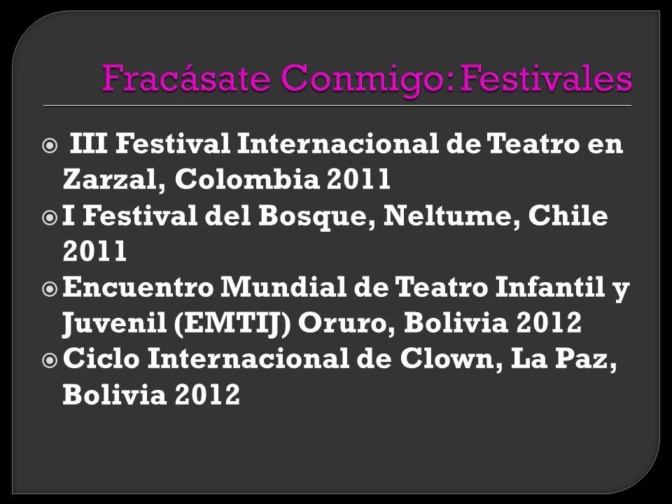Fracásate Conmigo es el segundo espectáculo creado y interpretado por TiTO.