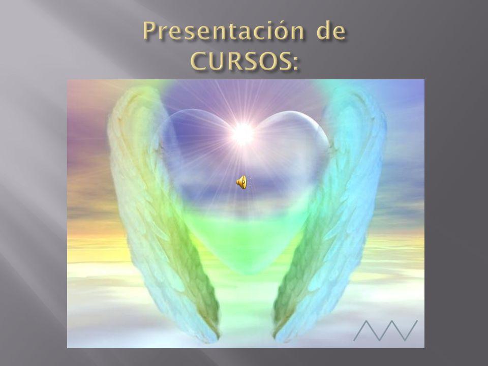 Duración: 16 horas dividido en 4 sesiones de 4 horas: Tema : Ángeles Guardianes y Jerarquía angelical.