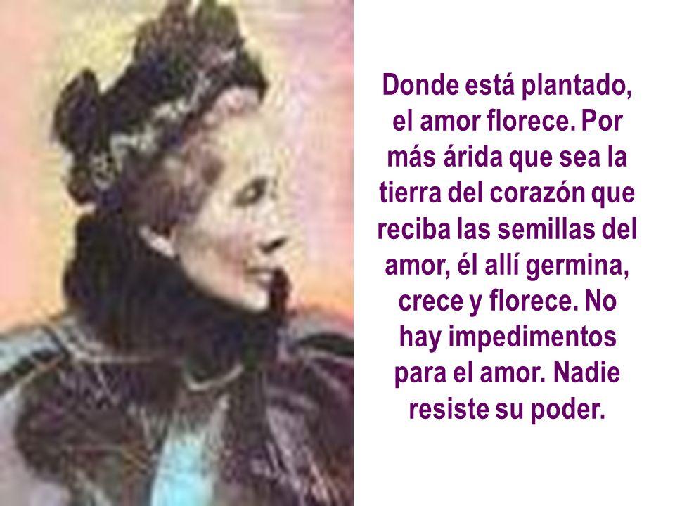 EL AMOR FLORECE Por: Amalia Domingo Soler GILGARAL – Edición: 23/11/2007
