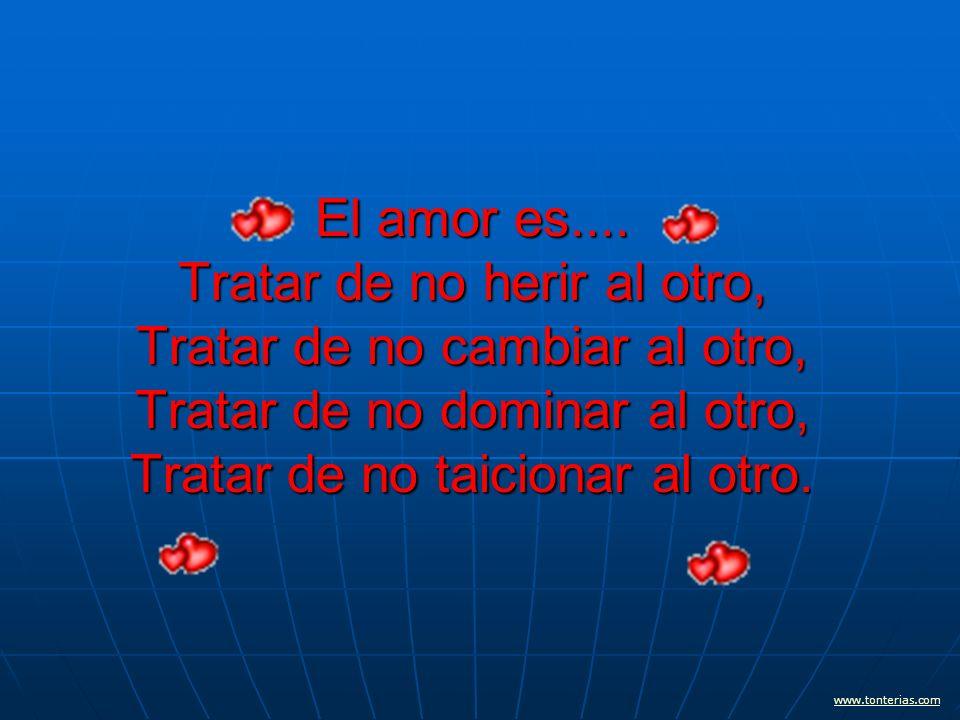 El amor es....