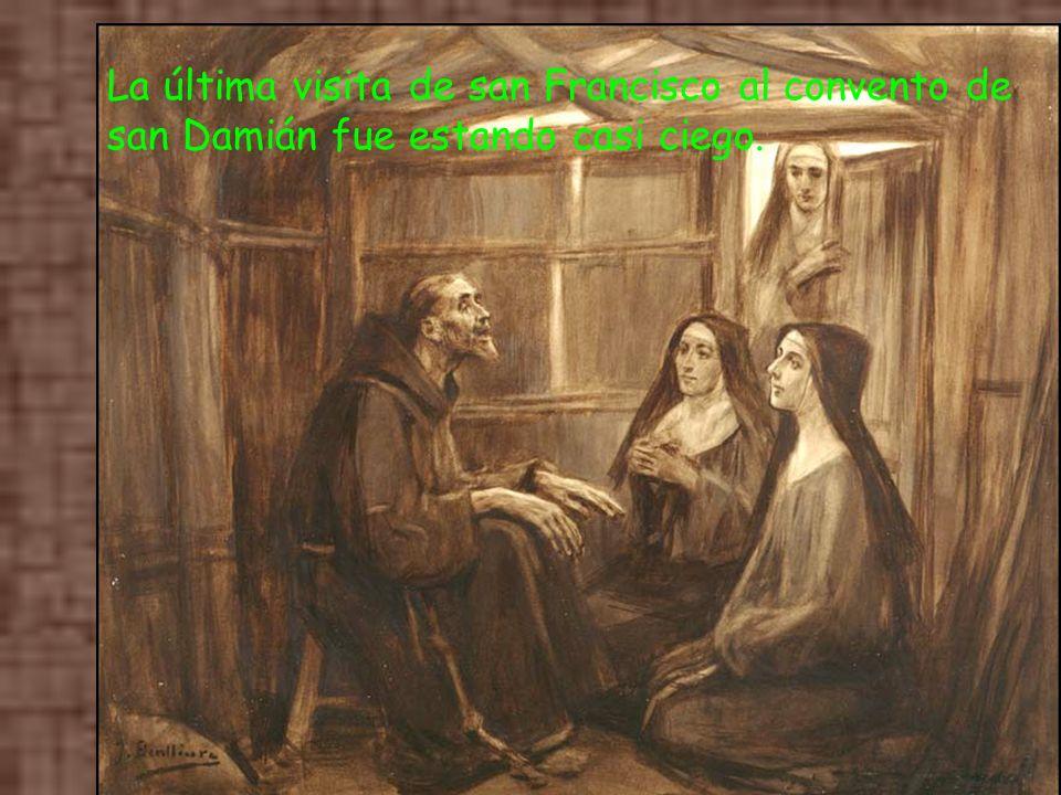 En otra ocasión fueron otros atacantes contra Asís. Clara y sus monjas oran ante el Santísimo, de modo que se produce una tal tormenta que el ejército