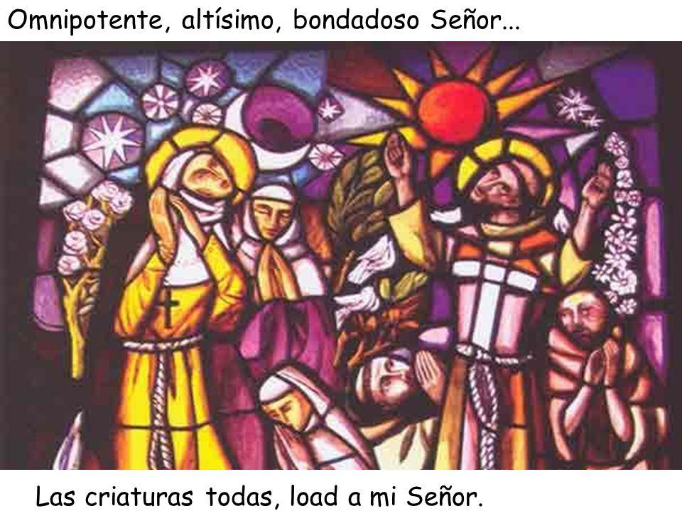Santa Clara daría gracias a Dios por los buenos ratos que pasó escuchando a san Francisco recitar el Cántico de las creaturas.