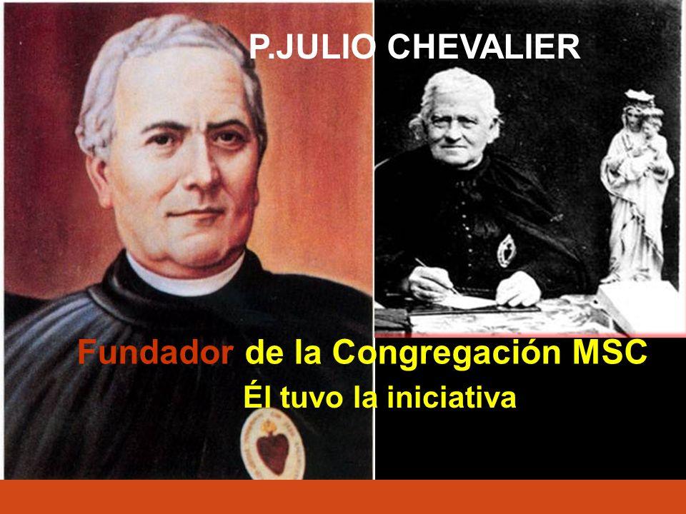 Para fundar la congregación, (1854) pidió la ayuda de la Virgen María y prometió honrarla con un nuevo título: