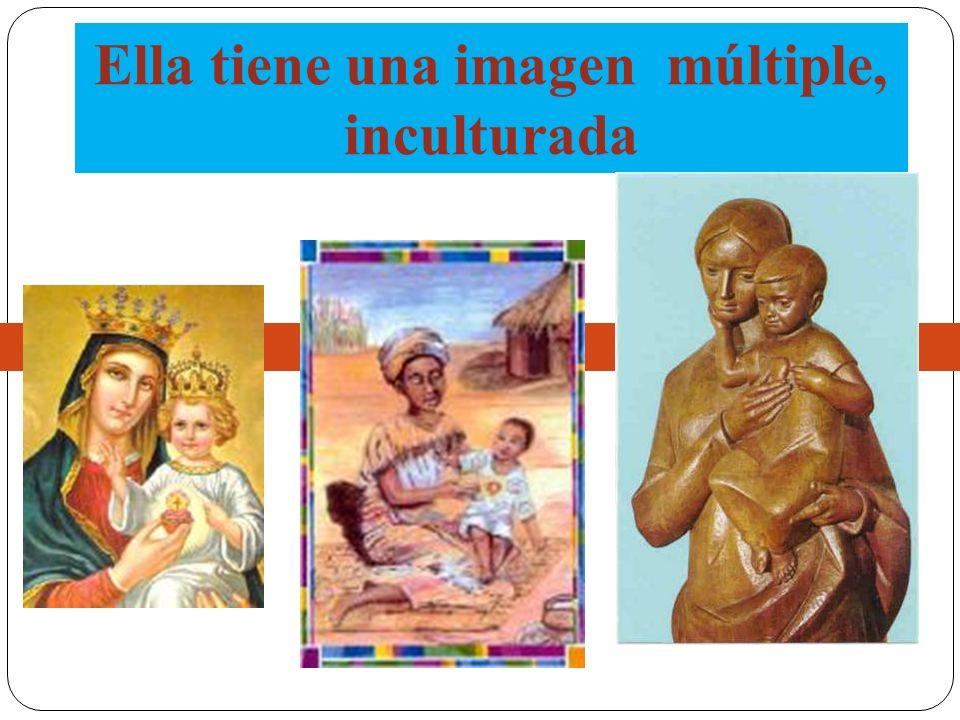 Nuestra Señora tiene el rostro de muchas mujeres que nos acercan a la humanidad de Jesús.