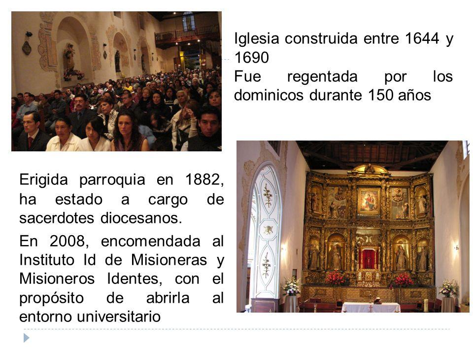 Erigida parroquia en 1882, ha estado a cargo de sacerdotes diocesanos.