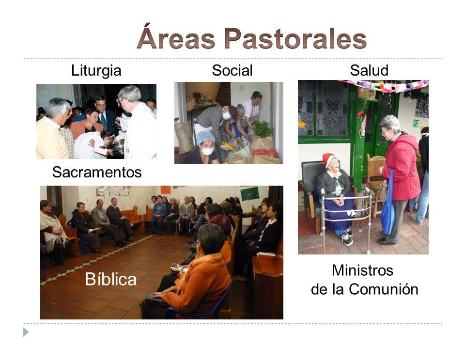 Bíblica LiturgiaSocialSalud Sacramentos Bíblica Ministros de la Comunión