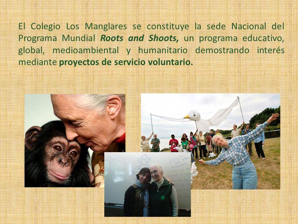 El Colegio Los Manglares se constituye la sede Nacional del Programa Mundial Roots and Shoots, un programa educativo, global, medioambiental y humanit