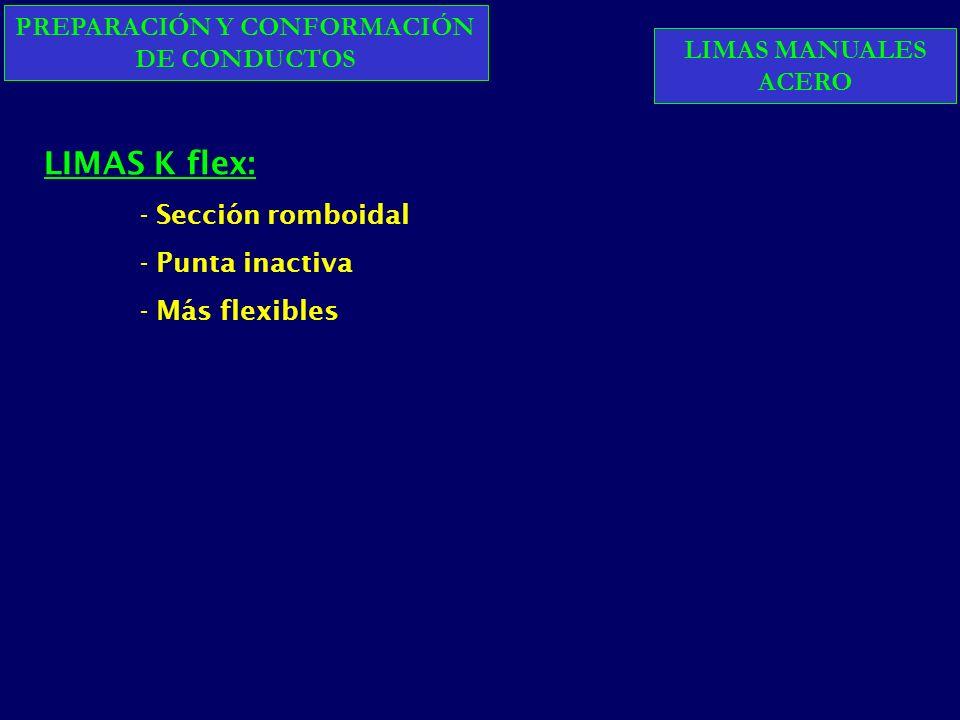 Lima 30 CONICIDADES C: 2% D: 03 mm C: 4% D: 03 mm C: 6% D: 03 mm + 1mm + 002mm + 004mm + 006mm
