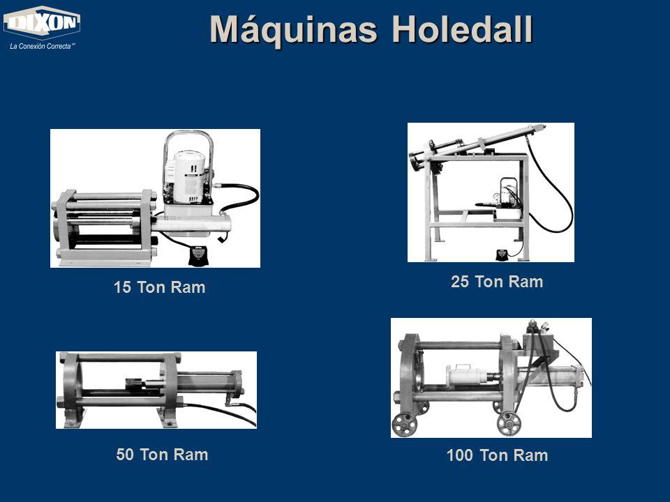 Máquinas Holedall 15 Ton Ram 25 Ton Ram 50 Ton Ram 100 Ton Ram