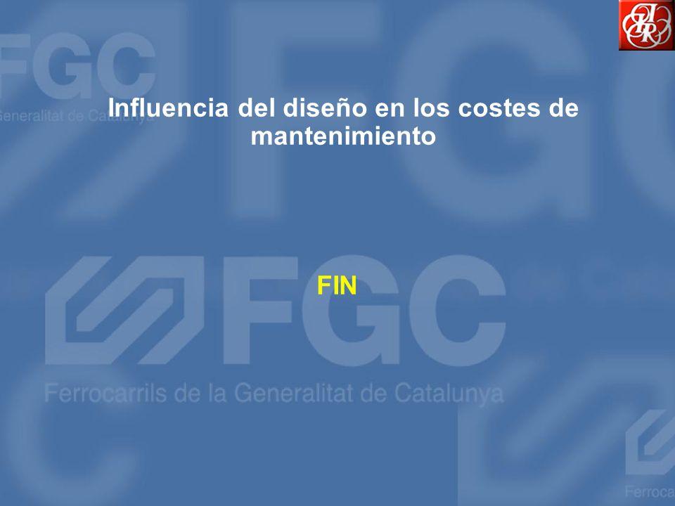 Influencia del diseño en los costes de mantenimiento FIN