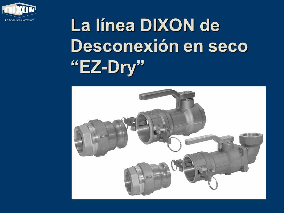 La línea DIXON de Desconexión en seco EZ-Dry