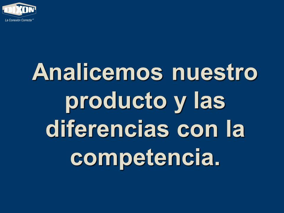 Analicemos nuestro producto y las diferencias con la competencia.