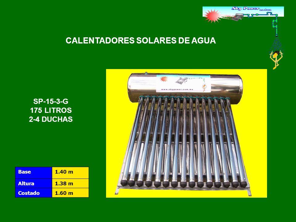 TUBO DE VIDRIO EXTERIOR PLACA DE ABSORCIÓN TUBO DE VIDRIO INTERIOR MaterialCristal de borosilicato Pared interna / pared externa1.6 mm.
