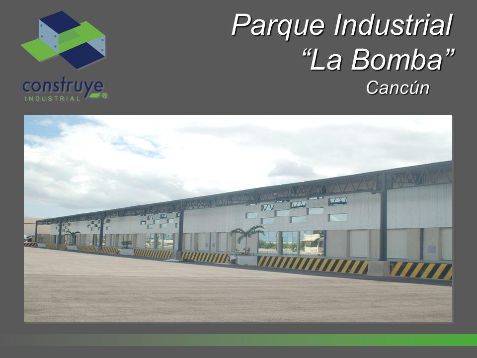Características Parque Industrial de más de 15,000m2.
