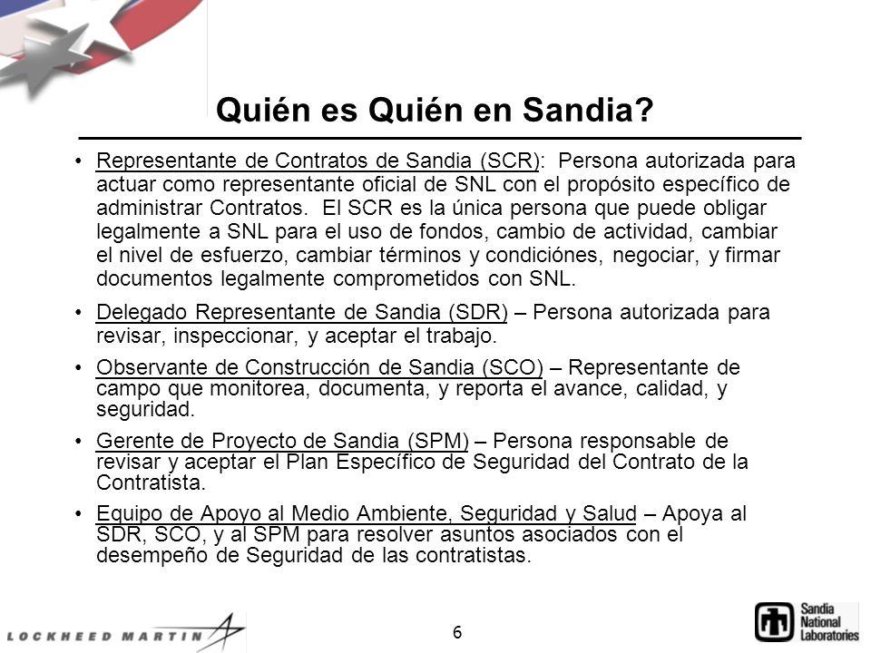 6 Quién es Quién en Sandia.