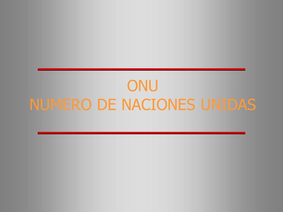 ONU NUMERO DE NACIONES UNIDAS