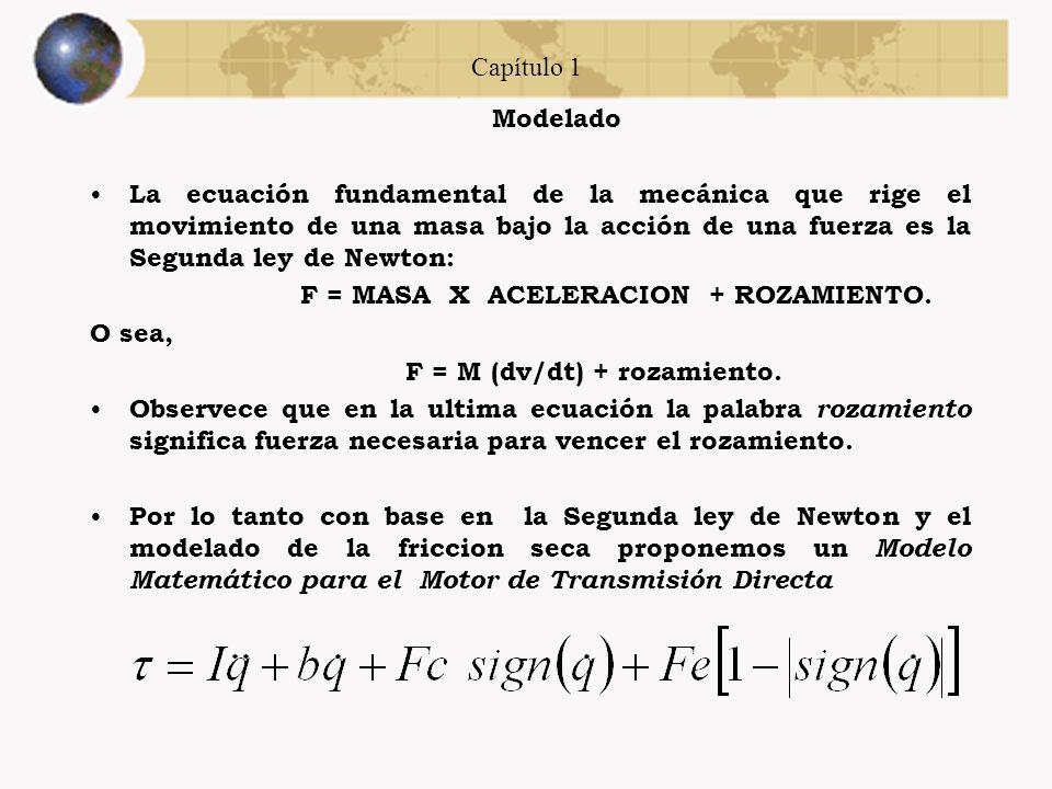 Capítulo 1 Modelado de fricción Todos los modelos propuestos muestran la característica común de la fricción stick-slip; un significante cambio de fri
