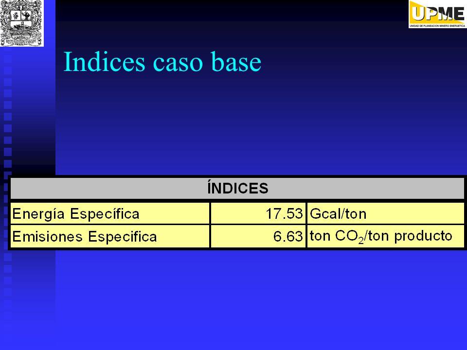 Indices caso base