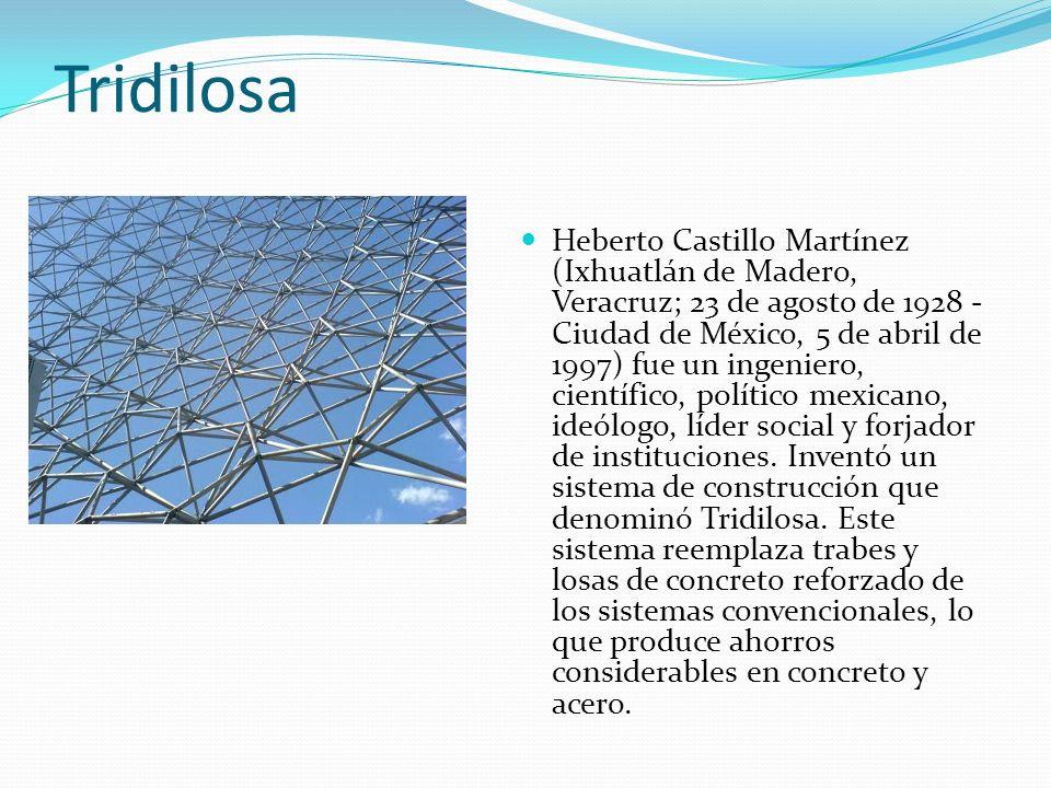 Tridilosa Heberto Castillo Martínez (Ixhuatlán de Madero, Veracruz; 23 de agosto de 1928 - Ciudad de México, 5 de abril de 1997) fue un ingeniero, cie