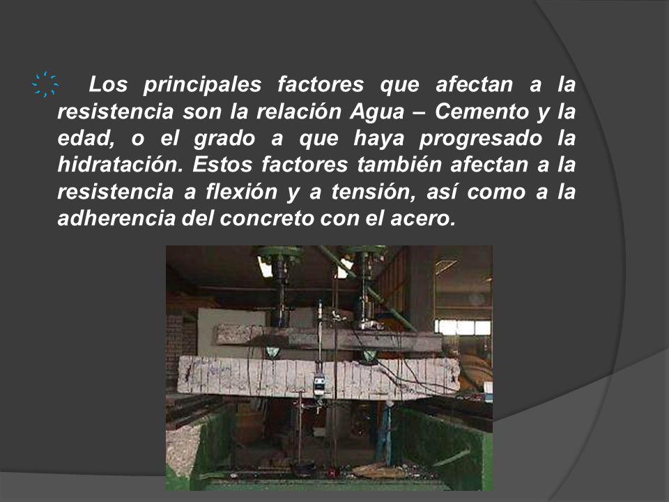 La deficiente resistencia a tensión del concreto simple dificulta su uso como material en vigas o elementos a flexión.