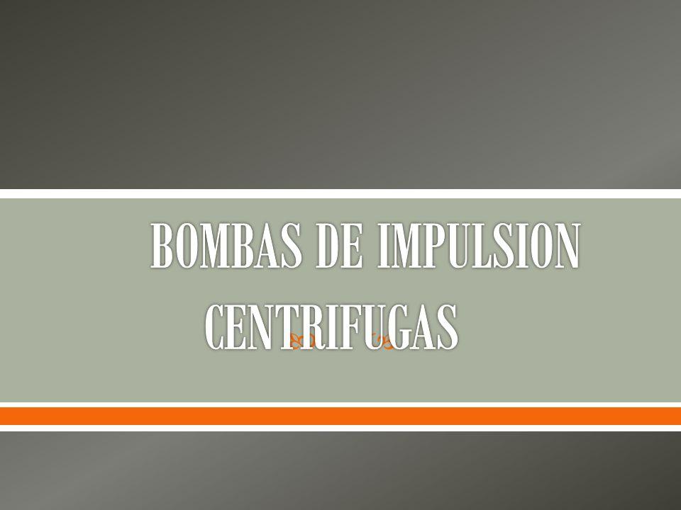 Las bombas centrífugas, como su nombre lo indica, emplean fuerza centrífuga para elevar el agua hacia lugares más altos.