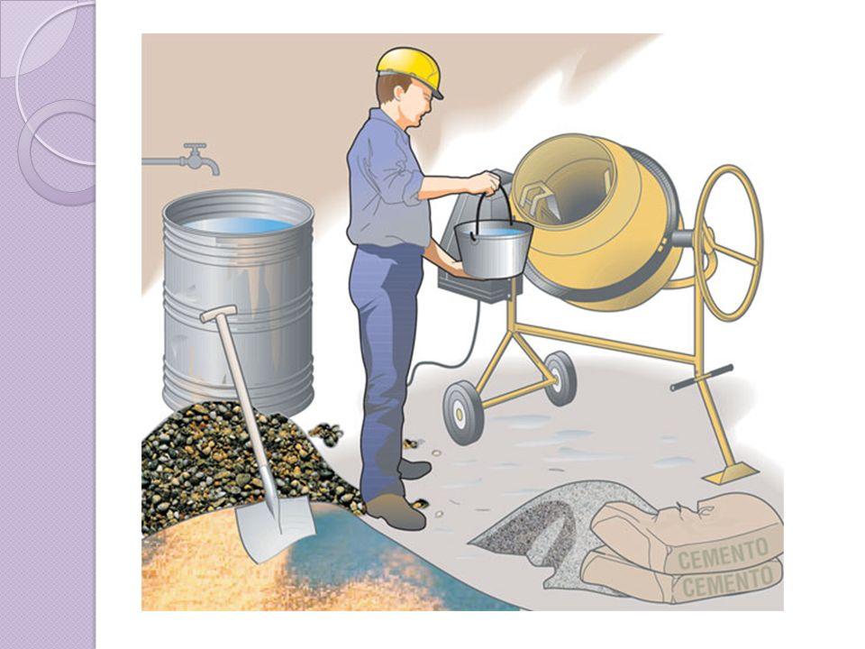 COMPONENTES El concreto es básicamente una mezcla de dos componentes: agregados y pasta.