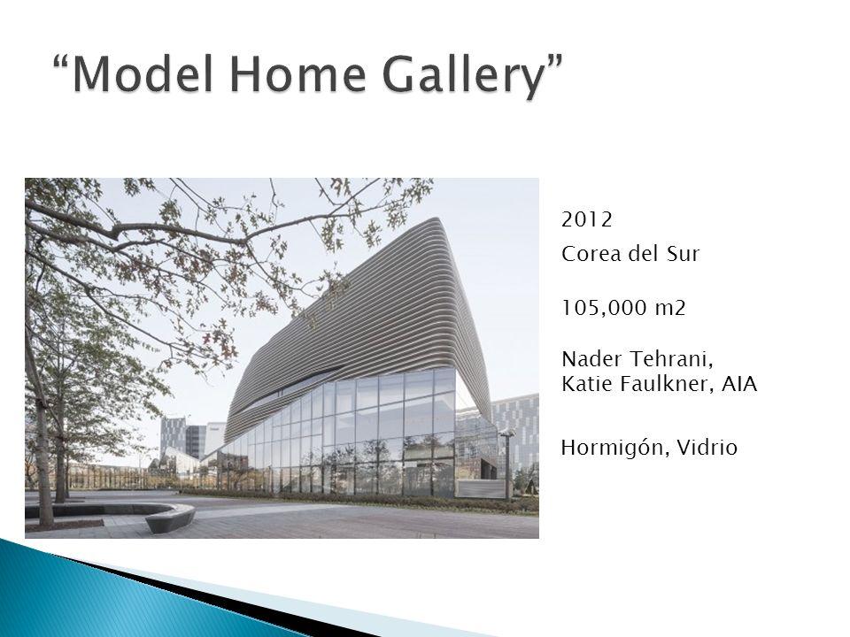 2012 105,000 m2 Corea del Sur Nader Tehrani, Katie Faulkner, AIA Hormigón, Vidrio