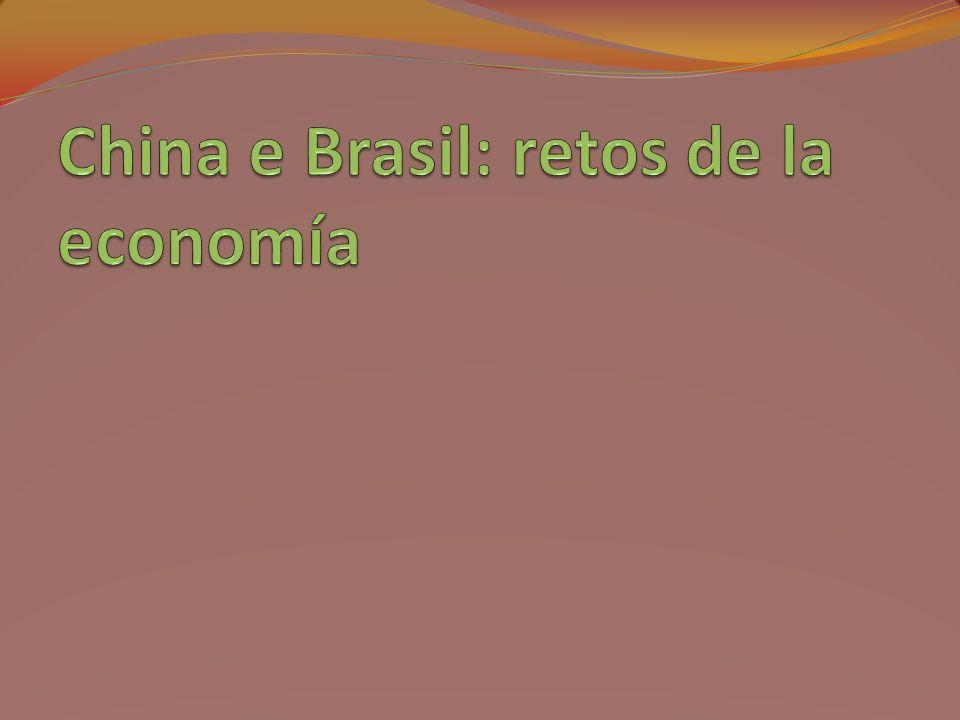 Brasil: proveedor básicos China: transformador Requiere inversiones en la industria; Requiere inversiones en logística (transporte y almacenamiento), tecnología y medio ambiente; Tecnología agricultura sustentable socio ambiental; No inversiones en tierra; Competencia en agricultura, energía, bioenergía, aviones y maquinaria agrícola; Requiere generación de empleo cualificado Requiere básicos y acceso a los mercados de manufacturados; Tiene capital para invertir en logística, energía, tecnología y medio ambiente; Necesita productos agrícolas sustentables; Necesita tierra y agua; Necesita tecnología para inversiones en agricultura, energía, bioenergía, aviones y maquinas agrícolas; Inversiones en fusiones y adquisiciones y bajo greenfield; China y Brasil: retos de las inversiones